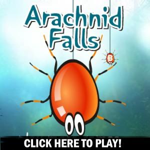 Arachnid Falls - Jogo de Ação